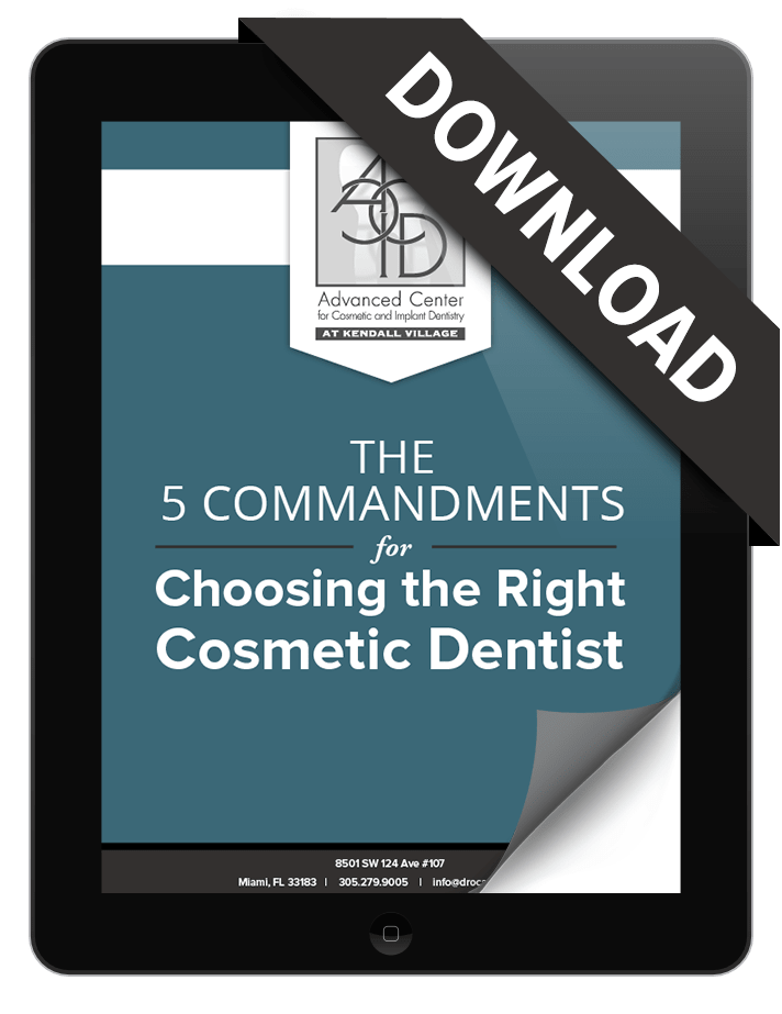 How to choose a cosmetic dentist eBook preview