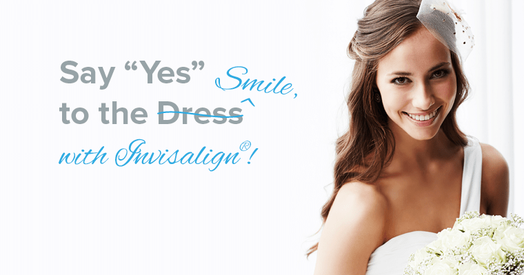 Every bride should say yes to Invisalign.