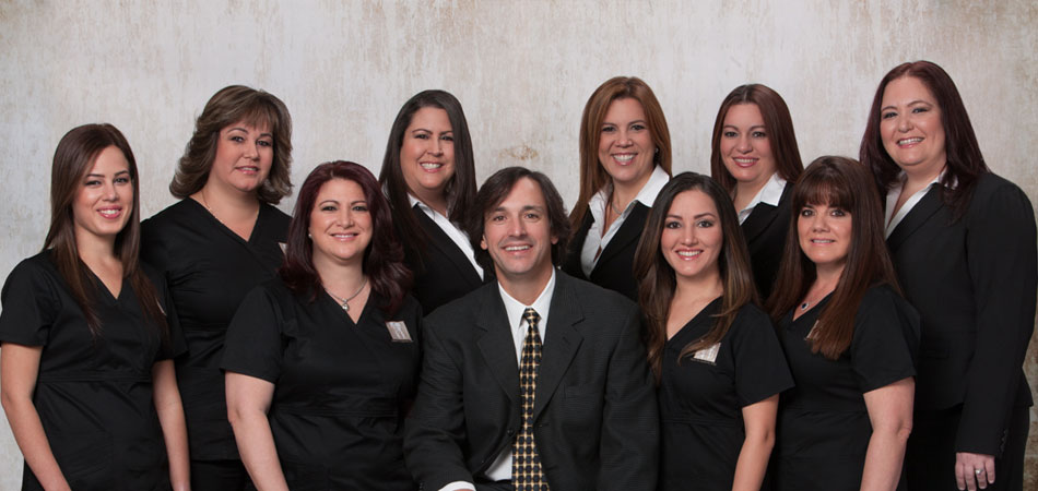 Image of Dr. Oscar Cascante, a Kendall Dentist and his team